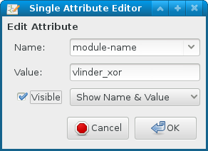 vlinder add attribute